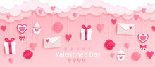 Valentines Day Banner With Gif...