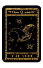 Tarot Card. Major Arcana