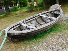 Ausrangiertes Fischerboot Am L...
