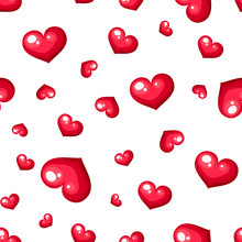 Vector Valentine's Day Seaml.