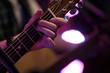 canvas print picture - gitarre