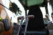 Low Angle View Inside The Cabi...