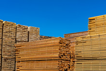 Pallets Of Treated Pine Planks...