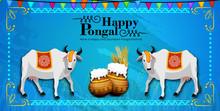 Illustration Of Happy Pongal H...