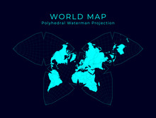 Map Of The World. Steve Waterm...