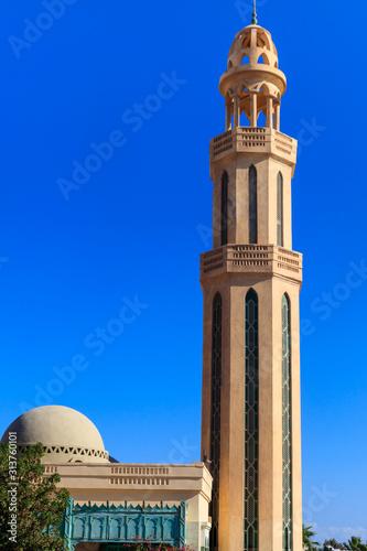 Meczet w mieście Hurghada, Egipt