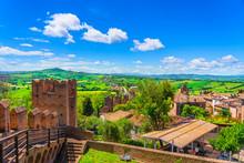 Gradara Medieval Village View ...