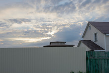 Cloudscape At Summer Sunset Ab...