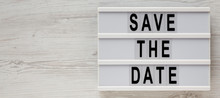 'Save The Date' Words On A Mod...