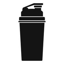 Shaker Icon. Simple Illustrati...
