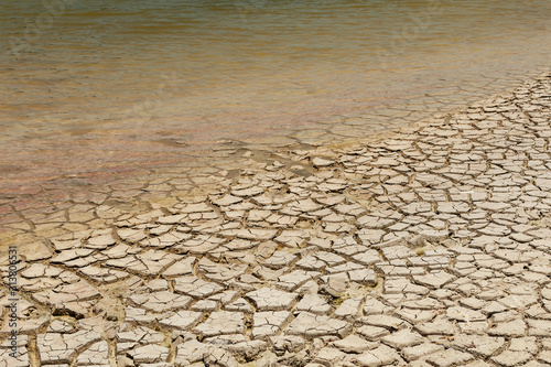 Obraz Dry lake bed - fototapety do salonu