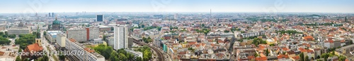 Photo Berlin panorama - great view in the city center