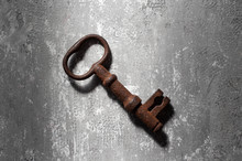 Old Rusty Key From An Old Padl...