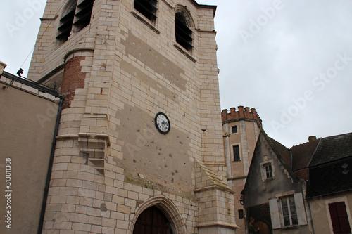 Foto medieval belfry in sancerre (france)