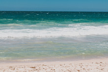 Detail Of Cottesloe Beach, One Of The Most Iconic Beaches Near Perth