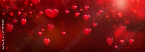red-hearts-background