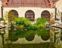 Green Reflecting Pond In Balboa Park
