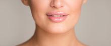 Lip Augmentation. Woman With P...