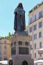 Giordano Bruno Monument Rome Italy