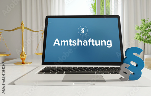 Amtshaftung – Recht, Gesetz, Internet Wallpaper Mural