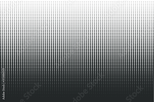 Dots halftone background Canvas Print