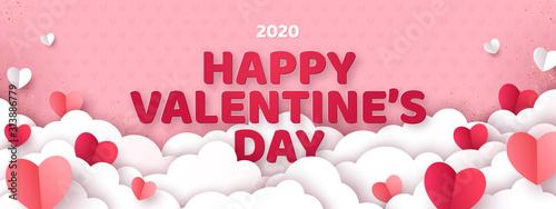 Foto Valentine's day concept background