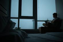 Sad Vibe Of A Room With Rainin...