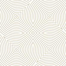 Vector Geometric Pattern. Seam...
