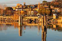 Trasimeno Lake Umbria Italy Eu...