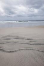 Windswept Beach On Lofoten Isl...