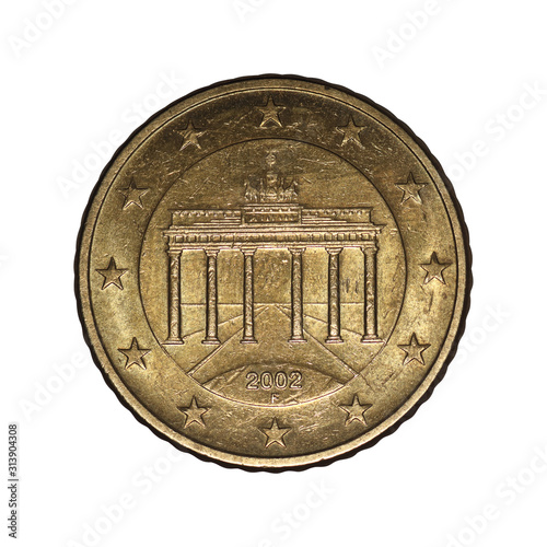 Fotografia 50 euro cent from 2002