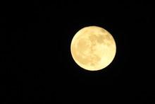 Full Moon Over The Mojave Desert, Antelope Valley, California.