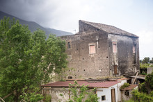 Decayed Structure In Italy