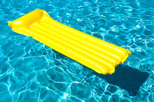 Empty Inflatable Raft In Brigh...