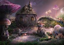 Fantasy World. Creative Illust...