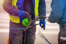 Electrical Network And Street Light Pole Repair Using Heat Shrink Tubing