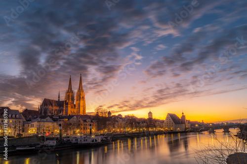 Regensburg Dom | Kirche | Cathedral | Oberpfalz | Bayern | Germany Canvas Print