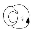 Cute koala cartoon vector design