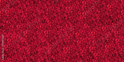 a-tiled-pattern-background-of-roses