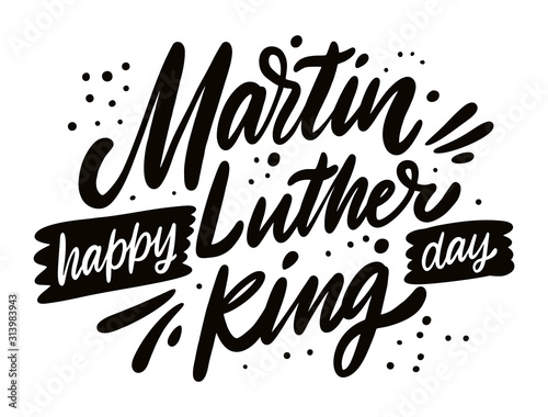 Photo Happy Martin Luther King day