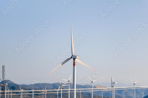 Photo Alternativa renovable de energía eólica en Oaxaca - México