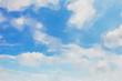 canvas print picture - watercolor colorful illustration