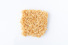 Yellow Instant Noodle Of Uncoo...