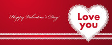 Design For Valentine's Day Wit...
