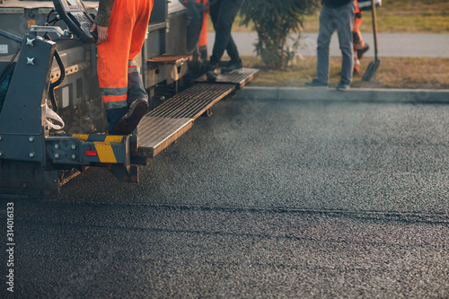 Canvastavla Asphalt paving