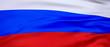 Leinwanddruck Bild - Russian Federation countrey 3D render Flag Background