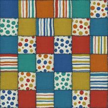 Patchwork Quilt Seamless Texture,  Fabric Texture, 3d Illustration