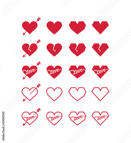 Photo Heart pack for Valentines Day and other love situations