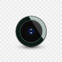 Glossy Phone Camera Lens Icon