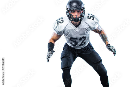 Fototapeta American football player